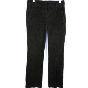 J. Crew Vintage Trouser Corduroy Pants 0P Brown